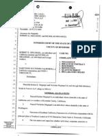 Narconon Colorado aka Narconon Southern California- Complaint by Megargel -1- 8pgs