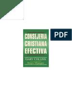 1. Gary collis, CONSEJERIA CRISTIANA. Pp 7-22. Resumen 1 pagina