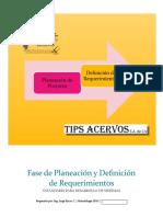 SDLC FASE PLANEACIÓN Y DEFINICIÓN DE REQUERIMIENTOS