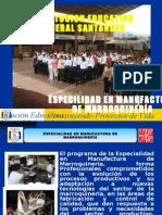 ESPECILIDAD MANUFACTURA DE MARROQUINERIA