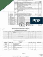 2001 Financiamiento de España Equipos Lab Comunicaciones