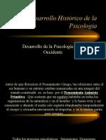 (Desarrollo psicologia occidental