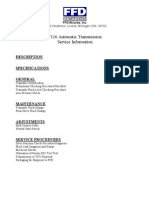 FFD Serive manual