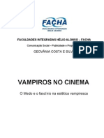 MONOGRAFIA VAMPIROS NO CINEMA