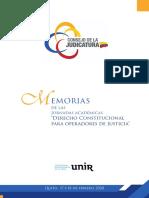 Memorias Jornadas Derecho Constitucional