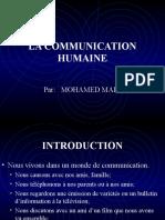 LA COMMUNICATION HUMAINE
