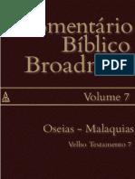 Comentário Bíblico Broadman. Volume 07