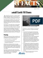 small earthfill dam