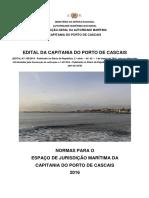 EDITAL 185-2016 Da Capitania Do Porto de CASCAIS - Versão Consolidada