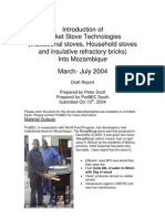 Rocket Stove Technologies stoves mozambique