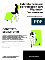 Estatuto Temporal de Protección para Migrantes Venezolanos