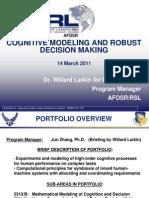 7. Larkin - Cognitive Modeling