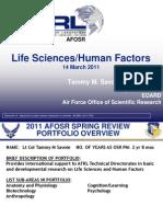 10. Savoie - Life Sciences
