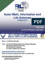11. Sonntag - Asian Math Information