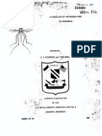 A checklist of the mosquitoes of     indonesia