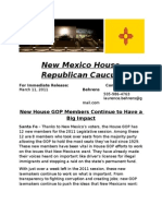 New House GOP Members Continue to Have a Big Impact