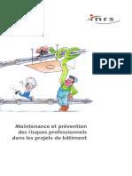 ED829-Maintenance Et Prévention Dans Projets de Batiment