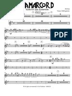 Rota N. - Amarcord - Suite - Sax Ensemble - Keyboards