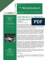 Nickelodeon Newsletter 2009-11-03 - Season Finale