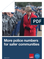 Safer Communities - Police