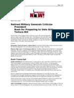 03-06-08 DN!-Retired Military Generals Criticize President B