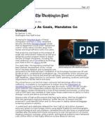 03-06-08 WP-DHS Strains as Goals, Mandates Go Unmet by Spenc
