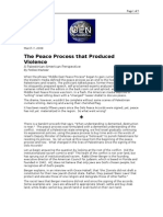 03-07-08 OEN-The Peace Process That Produced Violence by Fed