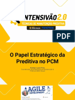 INTENSIVÃO 2.0 - Aula 1 - O papel estratégico da Preditiva no PCM - Material complementar