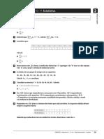 Ficha de Trabalho 14 - 10 Ano - Estatistica