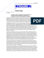 03-12-08 Le Figaro-Le Figaro-Withdrawal From Iraq by Georges