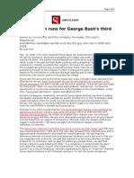 03-12-08 Salon-John McCain Runs for George Bush's Third Term