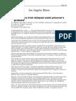 03-13-08 LAT-Guantanamo Trial Delayed Amid Prisoner's Protes