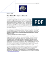03-13-08 OEN-The Case for Impeachment by Deb Della Piana