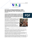 03-13-08 VOA-US House of Representatives Holds Secret Sessio