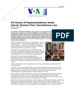 03-13-08 VOA-US House of Representatives Holds Secret Sessio