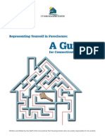 Connecticut - Guide To Representing Yourself in Foreclosure