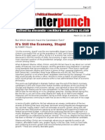 03-15-08 CP-It's Still the Economy, Stupid by ROBERT POLLIN