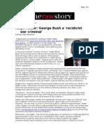 03-17-08 RawStory-Ralph Nader_George Bush a 'Recidivist War