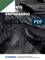 Reporte Social Empresario Adimra Digital 2020