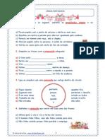Actividades de aplicação-Preposições simples e contraídas