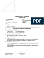 Gates PetitionforDissolution