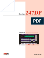Manual VED 905 Excitatriz Digital para Motor Sincrono V1P