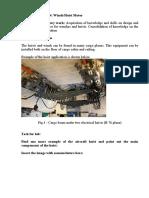 Lab 4 Hoist motor and drum