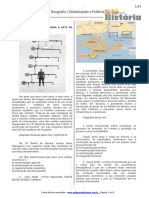 Lista de exercicios geografia globalização e politica