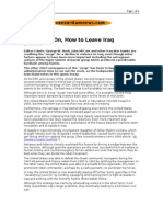 03-22-08 Consortiumnews-Five Years on, How to Leave Iraq by