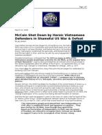 03-22-08 OEN-McCain Shot Down by Heroic Vietnamese Defenders