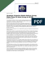 03-22-08 OEN-Students Organize Media Reform Group, Make Plan
