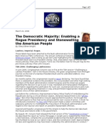 03-22-08 OEN-The Democratic Majority_Enabling a Rogue Presid