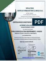 Gutierrez Leon Juan David- Curso Alturas 13032021