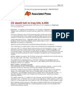 03-23-08 AP-US Death Toll in Iraq Hits 4,000